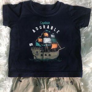 Captain Adorable 2-piece marching set